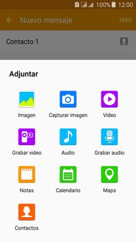 Envía fotos, videos y audio por mensaje de texto - Samsung Galaxy J7 - J700 - Passo 16