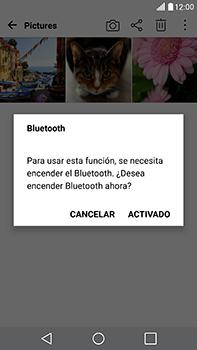 Transferir fotos vía Bluetooth - LG V20 - Passo 9