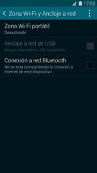 Configura el hotspot móvil - Samsung Galaxy S5 - G900F - Passo 5