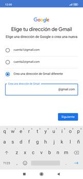 Crea una cuenta - Xiaomi Redmi Note 7 - Passo 10