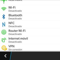 Configura el hotspot móvil - BlackBerry Q5 - Passo 5