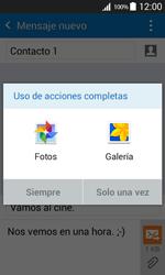 Envía fotos, videos y audio por mensaje de texto - Samsung Galaxy Core Prime - G360 - Passo 14