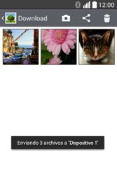 Transferir fotos vía Bluetooth - LG L40 - Passo 10