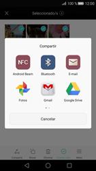 Transferir fotos vía Bluetooth - Huawei P8 - Passo 8