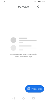 Envía fotos, videos y audio por mensaje de texto - Huawei P30 - Passo 2