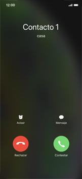 Contesta, rechaza o silencia una llamada - Apple iPhone XS - Passo 2