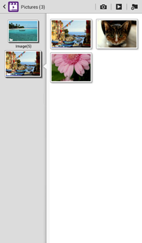 Transferir fotos vía Bluetooth - Samsung Galaxy Tab 3 7.0 - Passo 5