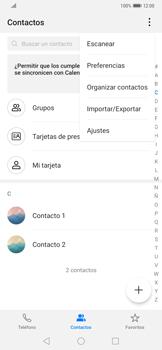 ¿Tu equipo puede copiar contactos a la SIM card? - Huawei Mate 20 Pro - Passo 4