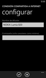 Configura el hotspot móvil - Nokia Lumia 820 - Passo 7