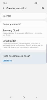 Realiza una copia de seguridad con tu cuenta - Samsung S10+ - Passo 5