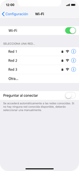 Configura el WiFi - Apple iPhone XS - Passo 5