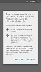 Uso de la navegación GPS - Samsung Galaxy J3 - J320 - Passo 6