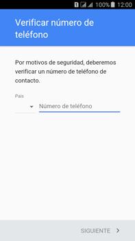 Crea una cuenta - Samsung Galaxy J7 - J700 - Passo 6