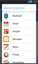 Transferir fotos vía Bluetooth - LG Optimus L7 - Passo 8