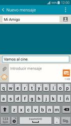 Envía fotos, videos y audio por mensaje de texto - Samsung Galaxy A3 - A300M - Passo 12