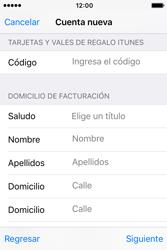 Crea una cuenta - Apple iPhone 4s - Passo 18
