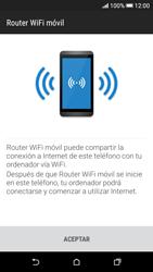 Configura el hotspot móvil - HTC Desire 626s - Passo 7