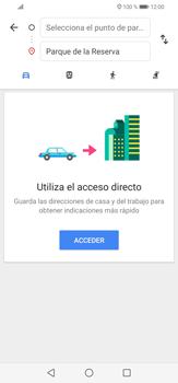 Uso de la navegación GPS - Huawei P30 Lite - Passo 10