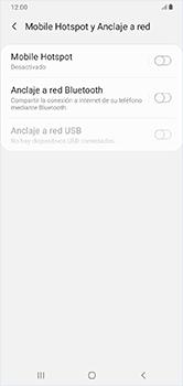 Comparte la conexión de datos con una PC - Samsung Galaxy A10 - Passo 6