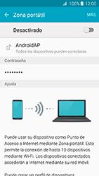 Configura el hotspot móvil - Samsung Galaxy J3 - J320 - Passo 6