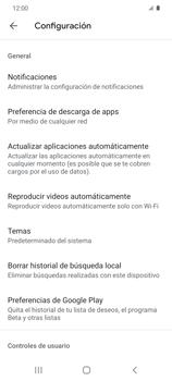 Cambiar configuración de actualizaciones de aplicaciones - Samsung Galaxy S20 - Passo 8
