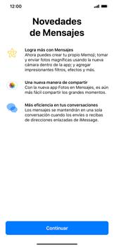 Envía fotos, videos y audio por mensaje de texto - Apple iPhone XR - Passo 2