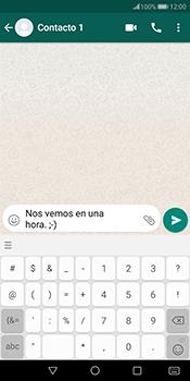 Usar WhatsApp - Huawei Mate 10 Pro - Passo 6