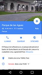 Uso de la navegación GPS - LG K10 - Passo 11
