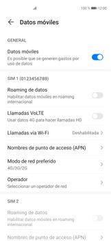 Cómo hacer una llamada por VoLTE - Huawei P40 - Passo 5