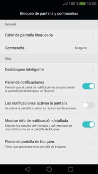 Desbloqueo del equipo por medio del patrón - Huawei Mate S - Passo 4