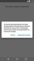 Configuración de Whatsapp - LG G5 - Passo 12