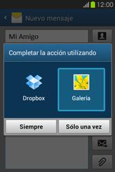 Envía fotos, videos y audio por mensaje de texto - Samsung Galaxy Fame GT - S6810 - Passo 15