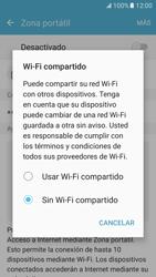 Configura el hotspot móvil - Samsung Galaxy S7 - G930 - Passo 6