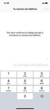Configuración de Whatsapp - Apple iPhone X - Passo 7
