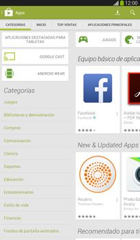 Instala las aplicaciones - Samsung Galaxy Tab 3 7.0 - Passo 6