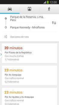 Uso de la navegación GPS - Samsung Galaxy Note Neo III - N7505 - Passo 13