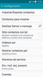 ¿Tu equipo puede copiar contactos a la SIM card? - Samsung Galaxy A3 - A300M - Passo 7