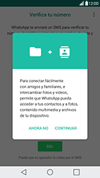 Configuración de Whatsapp - LG G5 - Passo 5