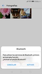 Transferir fotos vía Bluetooth - Huawei P10 - Passo 9