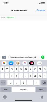 Envía fotos, videos y audio por mensaje de texto - Apple iPhone XS - Passo 7