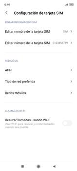Cómo seleccionar una red en tu teléfono manualmente - Xiaomi Redmi Note 9 Pro - Passo 6