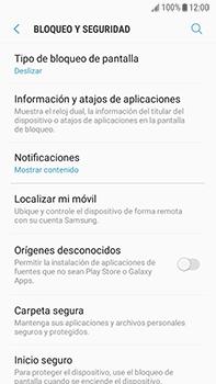 Desbloqueo del equipo por medio del patrón - Samsung Galaxy J7 Prime - Passo 5
