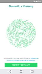 Configuración de Whatsapp - LG X Cam - Passo 4