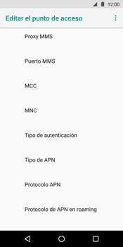 Configura el Internet - Motorola Moto G6 Play - Passo 12