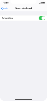 Cómo seleccionar una red en tu teléfono manualmente - Apple iPhone XS - Passo 5