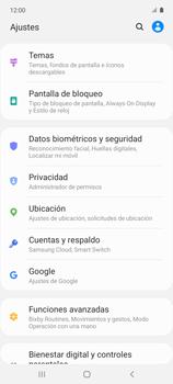 Habilitar seguridad de huella digital - Samsung Galaxy A51 - Passo 3
