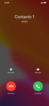Contesta, rechaza o silencia una llamada - Apple iPhone 11 - Passo 3