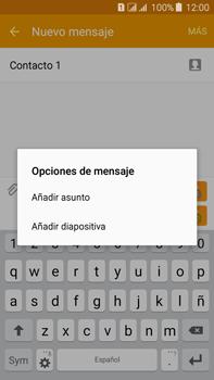 Envía fotos, videos y audio por mensaje de texto - Samsung Galaxy J7 - J700 - Passo 12