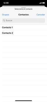 Cómo enviar un correo electrónico - Apple iPhone XS - Passo 5