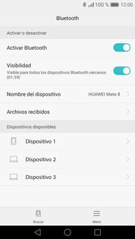 Conecta con otro dispositivo Bluetooth - Huawei Mate 8 - Passo 5
